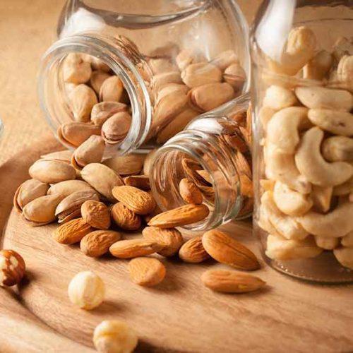 Almonds, Marcona Almonds, Walnuts, Macadamias, Pecans, and Pistachios